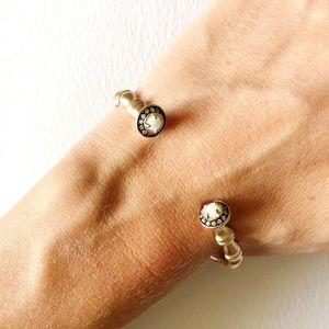 Kendra Scott Rose Gold w Opal Cuff Bracelet